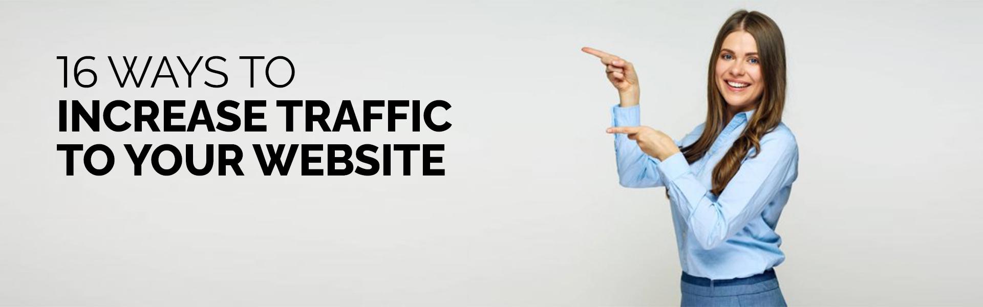 Increase website traffic -banner
