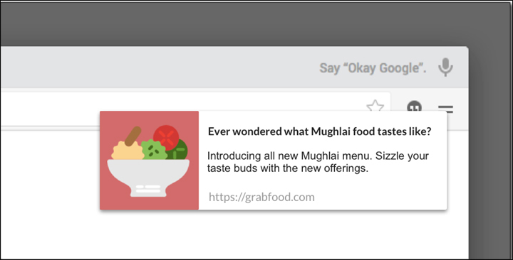examples of Browser Push Notifications 14